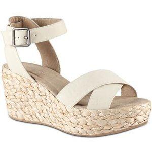 Shoes - Espadrille Wedge Sandal